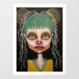 huhu Art Print
