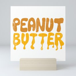 PEANUT BUTTER Mini Art Print