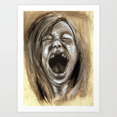 Scream #15 Art Print