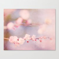 strawberry Canvas Prints featuring Strawberry by Hello Twiggs