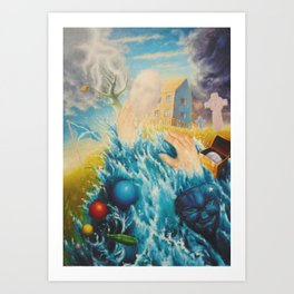 Home Surge Art Print