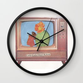 Little Girls Don't Know Wall Clock