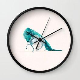 Wolf 2 Wall Clock