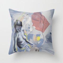 Rising love Throw Pillow