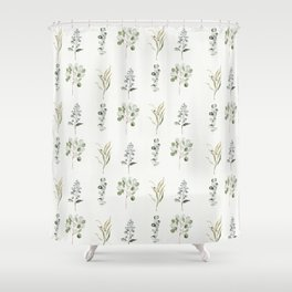 Eucalyptus Branches Shower Curtain