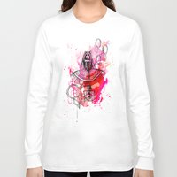 "bubbles Long Sleeve T-shirts featuring Bubbles by Barbora ""Mad Alice"" Urbankova"