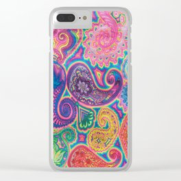 Goniochromism Clear iPhone Case