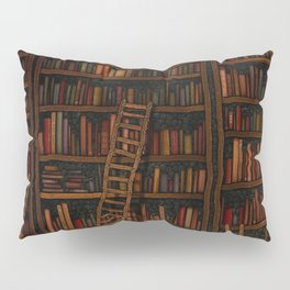 Night library Pillow Sham