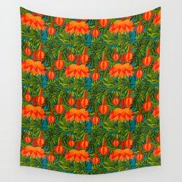 Passiflora Parritae Wall Tapestry