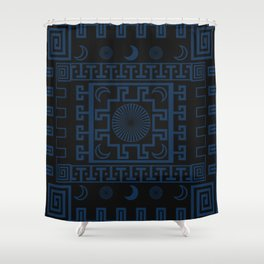 Midnight - Cool Variant Shower Curtain