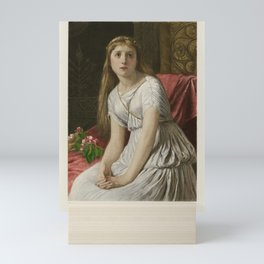 The Graphic Gallery of Shakespeare's Heroines (1896) - Cordelia, from King Lear Mini Art Print
