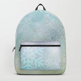 Snowflakes Gradient Backpack