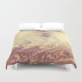 PLANETARY CONFUSION Duvet Cover
