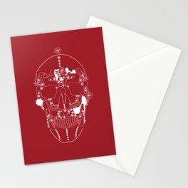 shoes make a skull Stationery Cards