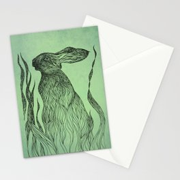 Hiding in the green Stationery Cards