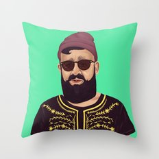 The Israeli Hipster leaders - Ovadia Yosef Throw Pillow