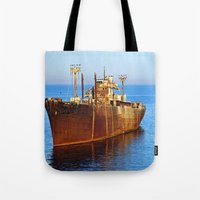 wreck it ralph Tote Bags featuring Wreck by Roxana Lazăr