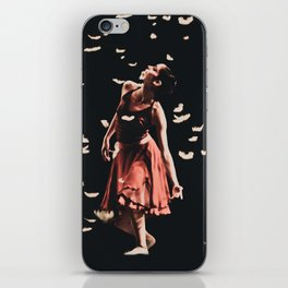 Dancing finale iPhone Skin