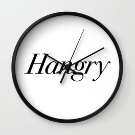 Hangry Wall Clock