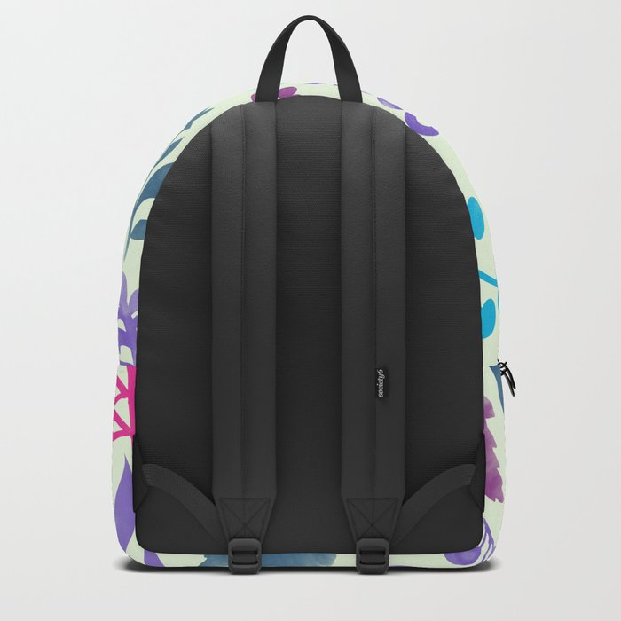 Watercolor Floral Pattern III Backpack