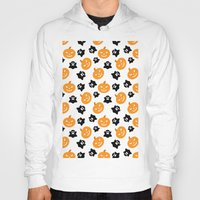 halloween Hoodies featuring Halloween by cat&wolf