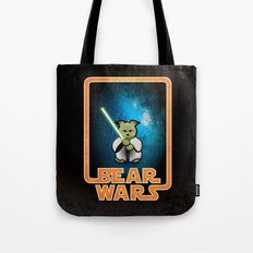 Bear Wars - the Wise One Tote Bag