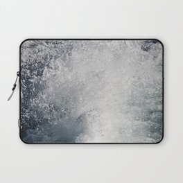 Water Behind A Ship Laptop Sleeve