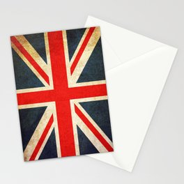 Vintage Union Jack British Flag Stationery Cards