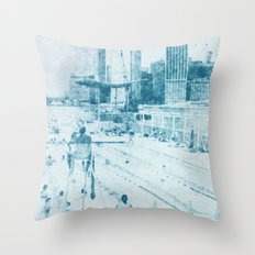 swimmingpool 1 Throw Pillow