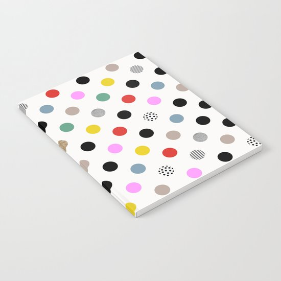 Coloured Dot Notebook