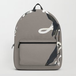 Anxiety (White Variant) Backpack