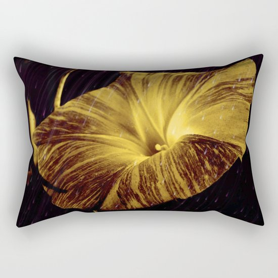 Golden Glory Rectangular Pillow