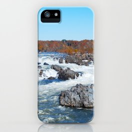 Great Falls Virginia iPhone Case