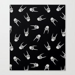 Rock Bones Canvas Print