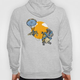Turtle and tortoise parasailing Hoody