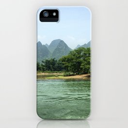The Sheep & The Mountains iPhone Case