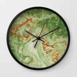 Green Onyx Wall Clock