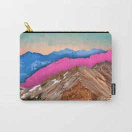 Color Band Mountains Carry-All Pouch