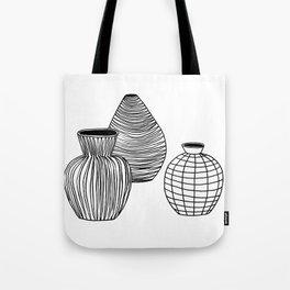 VASE BW Tote Bag