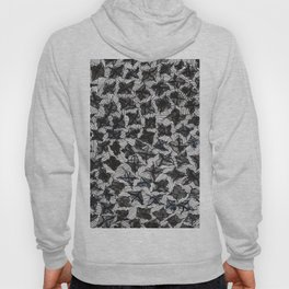 Flowers and Lines Hoody