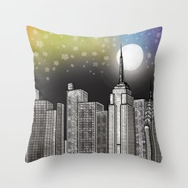 Pride NYC Throw Pillow