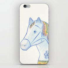 Memories of a wooden horse iPhone & iPod Skin