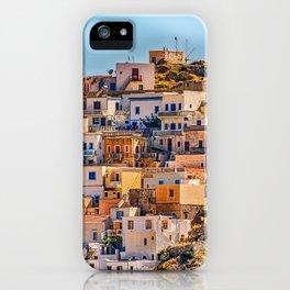 Greek Village On Karpathos Island iPhone Case