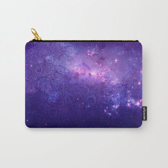 purple mandalas Carry-All Pouch