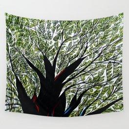Dreamland Tree Wall Tapestry
