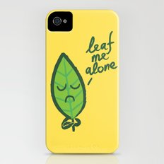 The introvert leaf Slim Case iPhone (4, 4s)