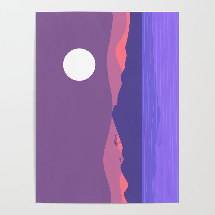 Tropical Landscape 03 Poster