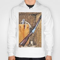 winchester Hoodies featuring Winchester Rifle by Captive Images Photography