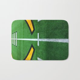 Rugby playing field Bath Mat