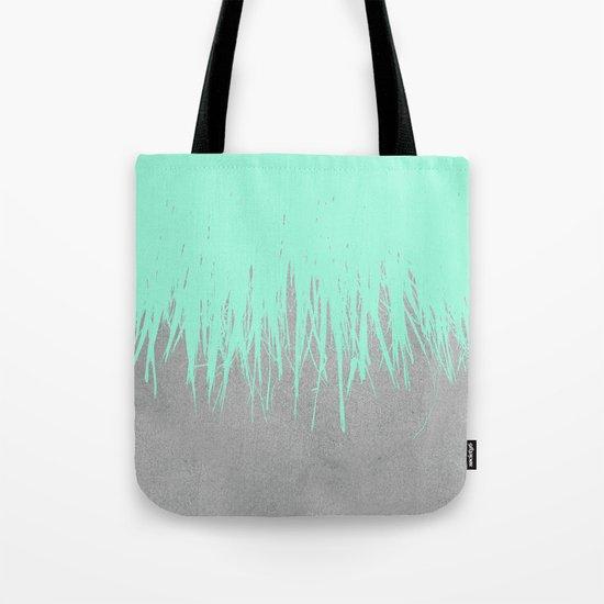 Fringe Concrete Mint Tote Bag